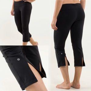 Lululemon Gather & Crow Groove Crop Yoga Pants 6